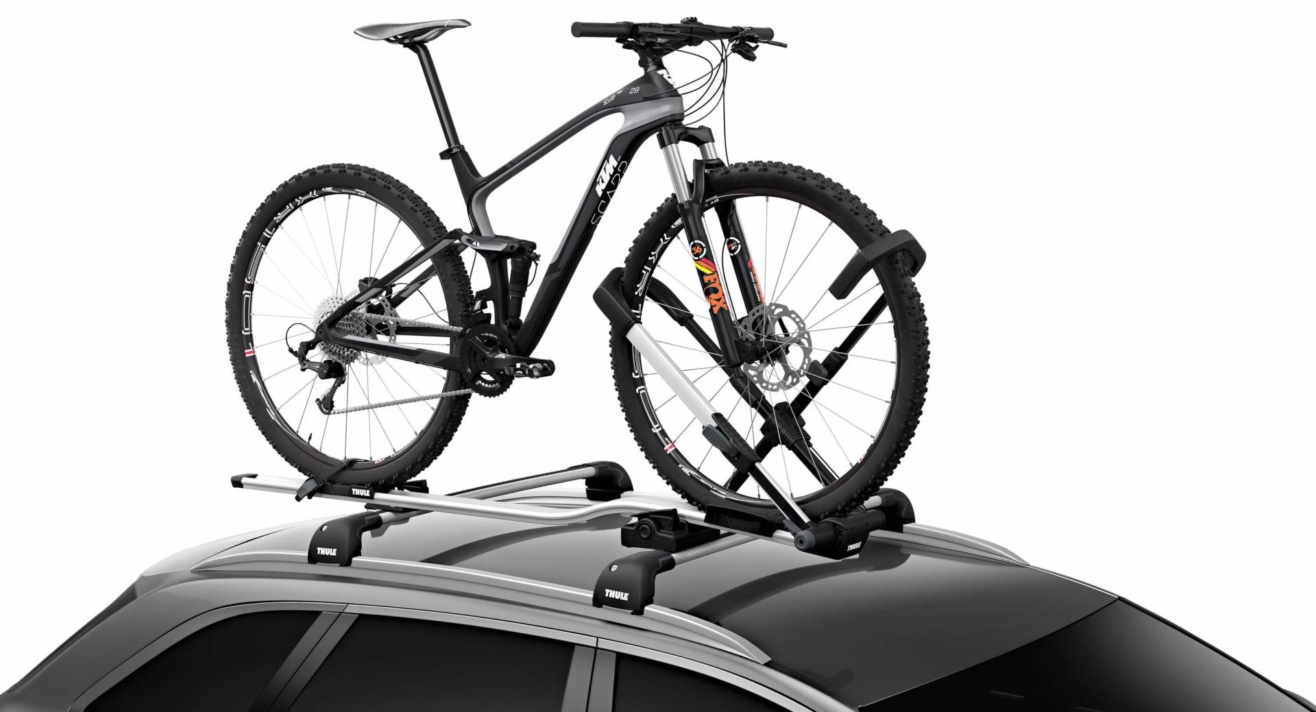 Thule UpRide 599 крепление для перевозки велосипеда на крыше автомобиля